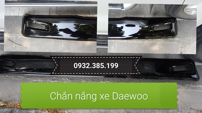 Chắn nắng xe tải xe đầu kéo Daewoo
