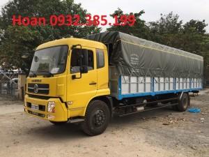 Dongfeng nhập khẩu thùng mui bạt chiều dài thùng 8,6 mét tải trọng 8 tấn 1 (8,1 tấn)