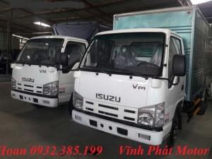 Giá xe tải isuzu 1,9 tấn thùng dài thùng kín 6m2 Isuzu Vinh Phát