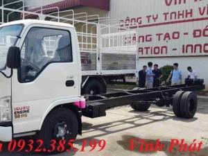 Isuzu 1,9 tấn thùng dài 6m2 NK490E4SL Isuzu Vĩnh Phát
