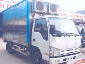 Xe chơ thiết bị y tế Isuzu Vĩnh Phát Qhr650