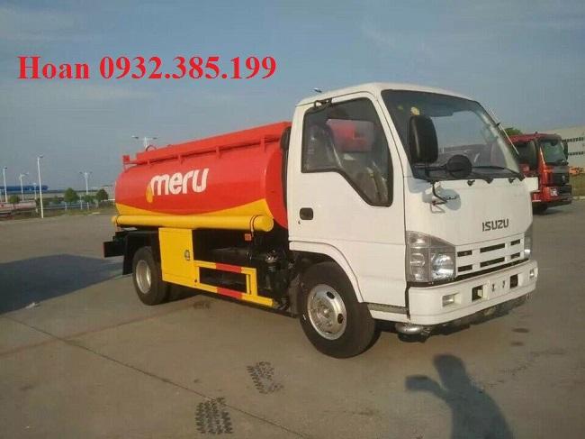 xe chở xăng dầu 5 khối isuzu vĩnh phát Qhr650