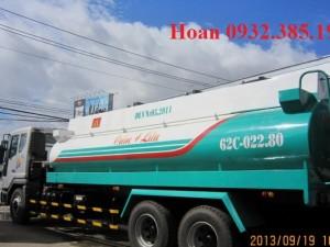 Xe chở xăng dầu Daewoo 17 khối K7CEF nhập khẩu Hàn Quốc