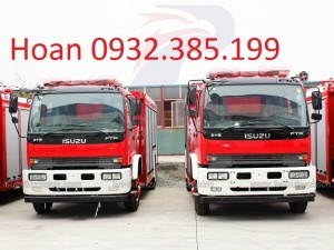 Xe cứu hỏa Isuzu Vĩnh Phát FT