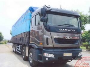Xe Daewoo Prima 5 chân đời mới 2020 tải trọng 22 tấn