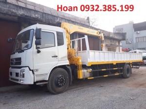 Xe Dongfeng B170 gắn cẩu Soosan SCS 524 6 tấn 4 đốt