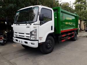 Xe ép rác 12 khối Isuzu Vĩnh Phát fn129s chất lượng Nhật Bản