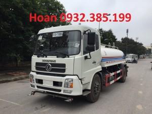 Xe phun nước rửa đường Dongfeng 9 khối nhập khẩu nguyên chiếc