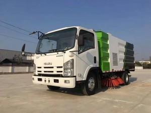 Xe quét đường hút bụi Isuzu 5 khối nhập khẩu nguyên chiếc