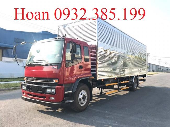 Xe tải 2 chân Isuzu Vĩnh Phát FTR160L4 thùng siêu dài 9m3