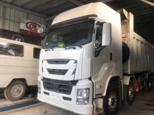 Xe tải ben Isuzu Giga 4 chân nhập khẩu nguyên chiếc