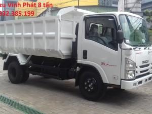 Xe tải ben Isuzu Vĩnh Phát Fn129S tải trọng 8 tấn