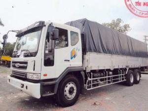 Xe tải Daewoo 3 chân tải trọng 14 tấn  đời mới 2020 thùng dài 9m3