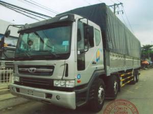 Xe tải Daewoo 4 chân tải trọng 18 tấn đời 2020 động cơ Euro 4