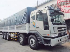 Xe tải Daewoo 5 chân tải trọng 22,5 tấn đời 2020 có phanh ABS
