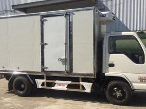 Xe tải đông lạnh Isuzu Vĩnh Phát Nk490SL4 2,4 tấn