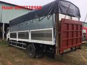 Xe tải thùng bửng nâng Vĩnh Phát Isuzu Fn129 tải trọng 7t8