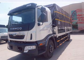 Xe tải thùng Daewoo KC6A1 2 chân thùng dài 7m6