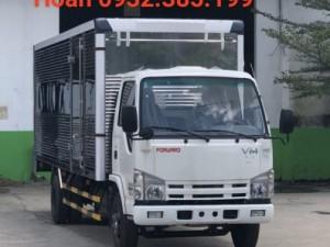 Xe tải thùng kín 1,9 tấn Isuzu Vĩnh Phát NK490SL thùng dài 6m2