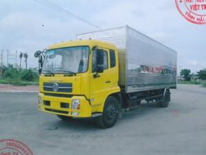 Xe tải thùng kín Dongfeng B170 Hoàng Huy thùng dài 7m5