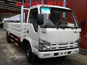 Xe tải Vĩnh Phát NK490SL thùng lửng 1 tấn 9 thùng dài 6m2