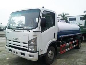 xe tưới nước rửa đường Isuzu Vĩnh Phát Vm fn129 8 khối